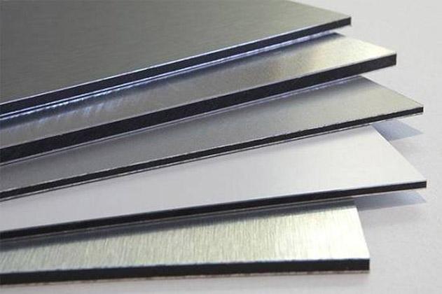 Dibond aluminio, varios grosores