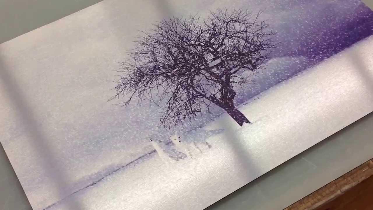 Impresión sobre dibond aluminio